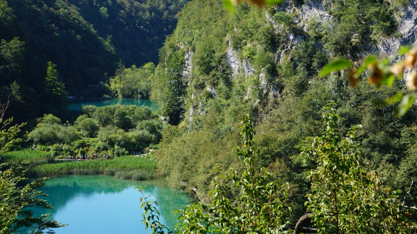 Blue Lake Plitvice Lakes Croatia