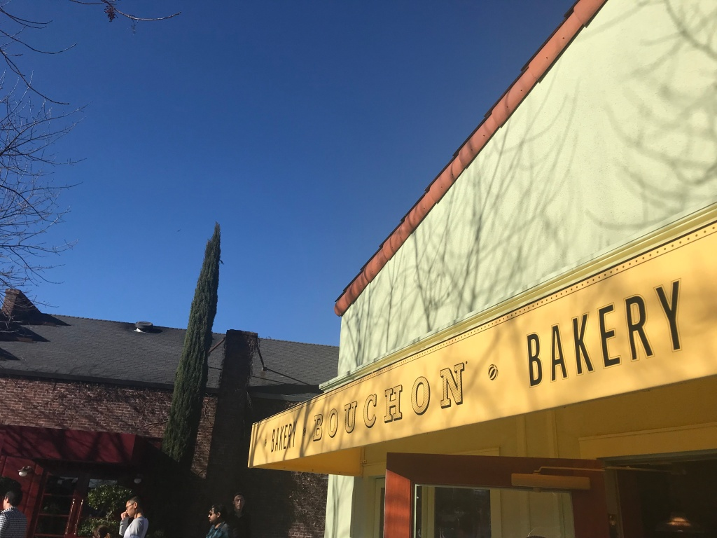 Bouchon Bakery located in Yountville California