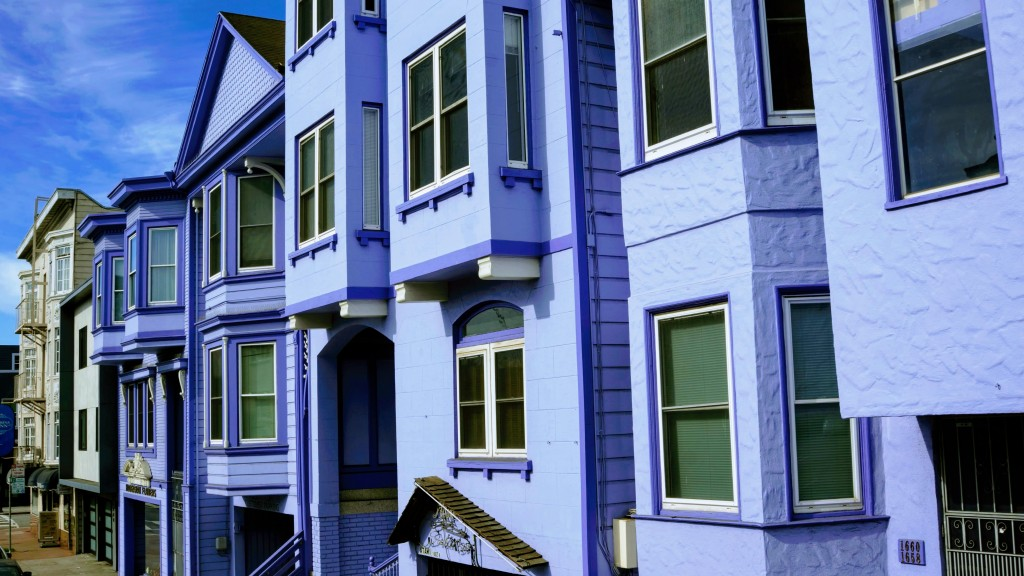 Victorian houses in the Mission San Francisco