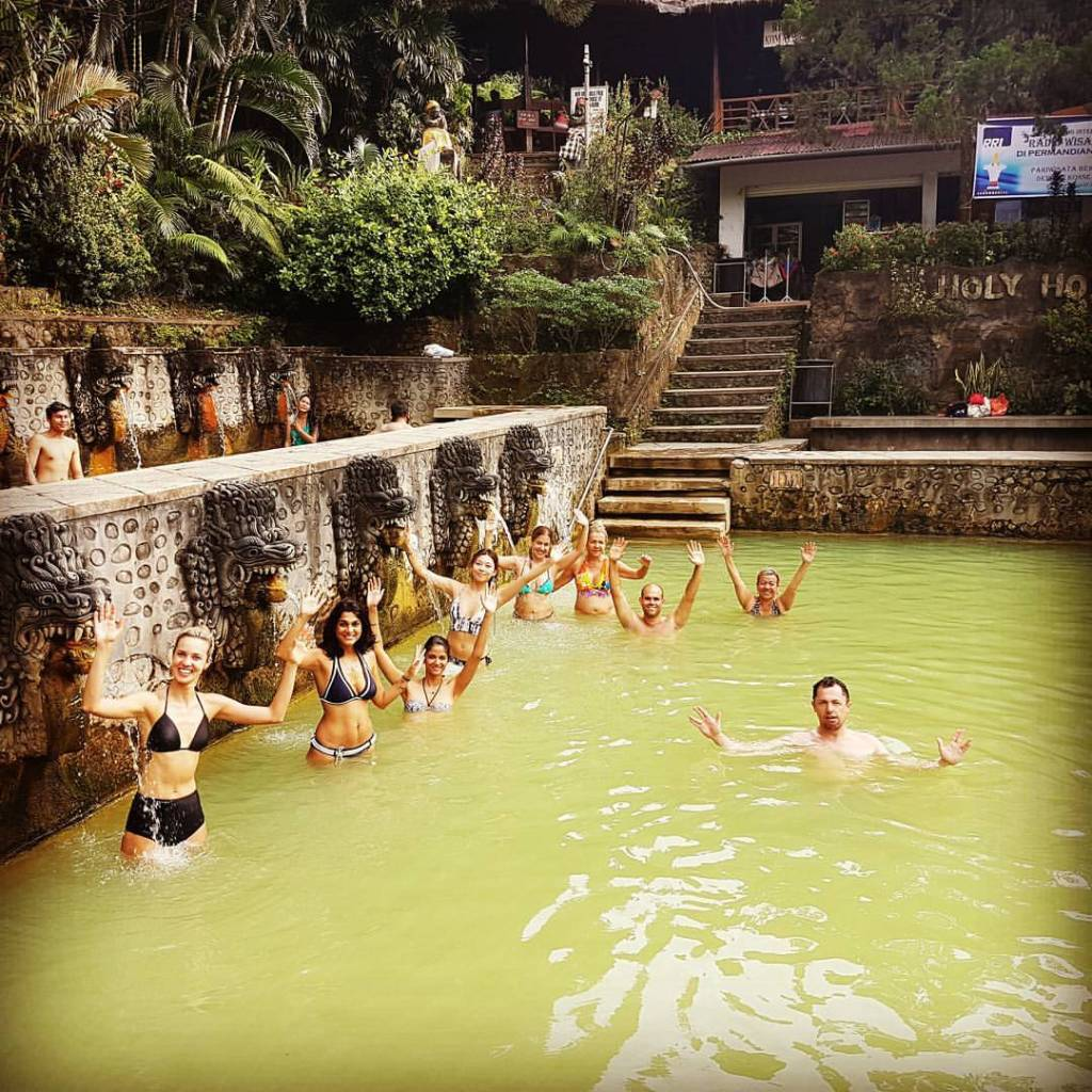 Hot Springs Air Panas - Bali Indonesia