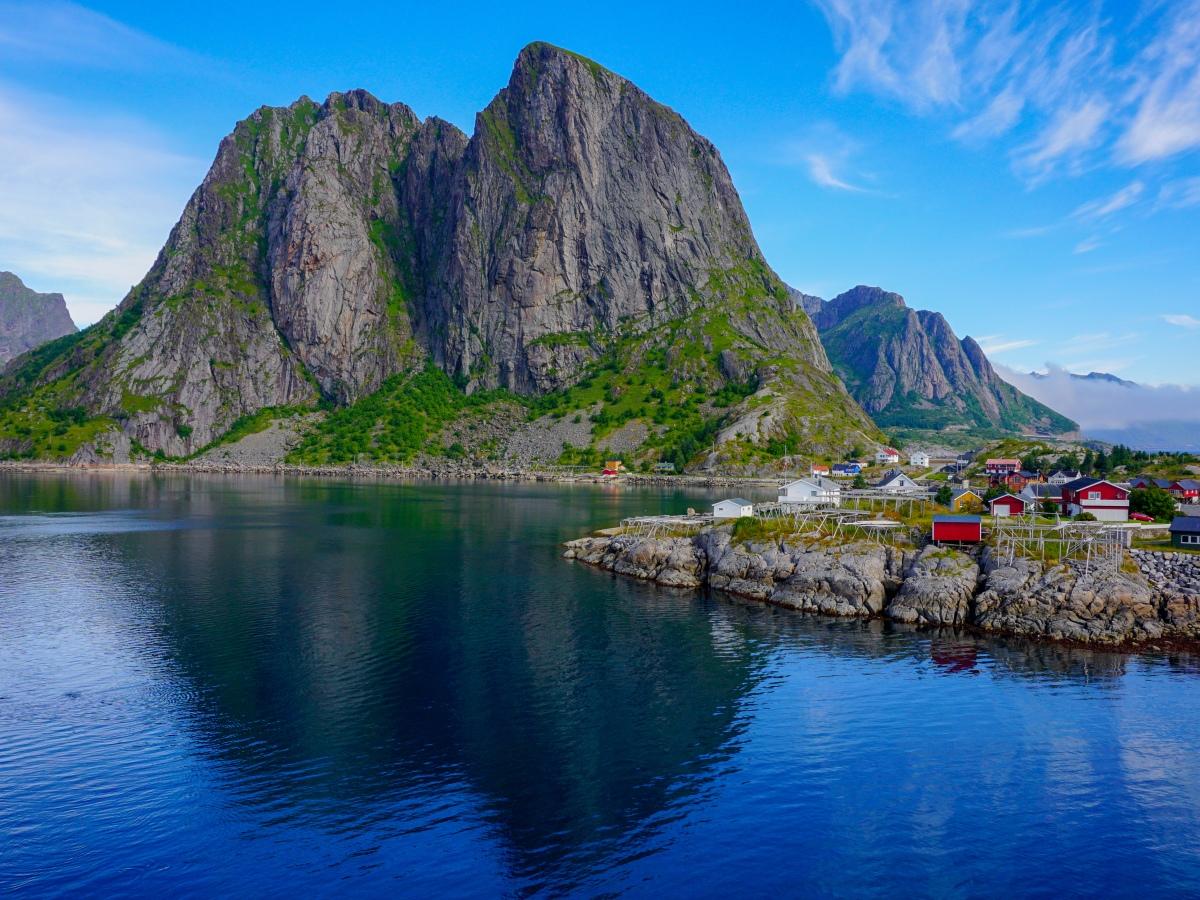 Reine Fjord Lofoten Norway